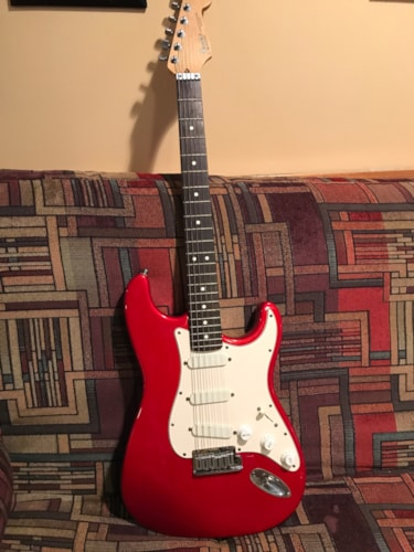 1990 Fender® Strat® Plus Candy Apple Red, Very Good, Original Hard, Call For Price!