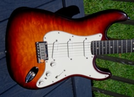 "1990 Fender STRATOCASTER 35th Anniversary Custom Shop ""New in the Box"""