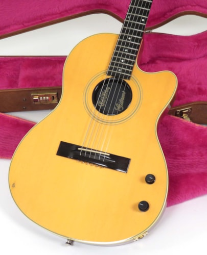 1990 Gibson Chet Atkins SST Natural, Very Good, Original Hard