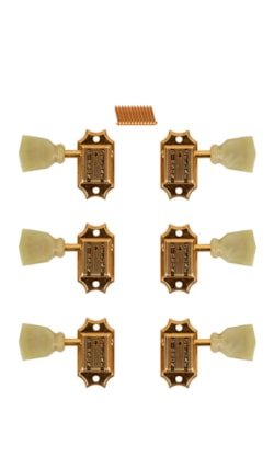 ~1990 Gibson Deluxe Gold Plated Tuner Set