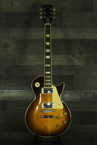 1990 Gibson Gibson Les Paul StandardSigned by Peter Frampton and Blue Oy Sunburst, Excellent, Original Hard, $3,999.00