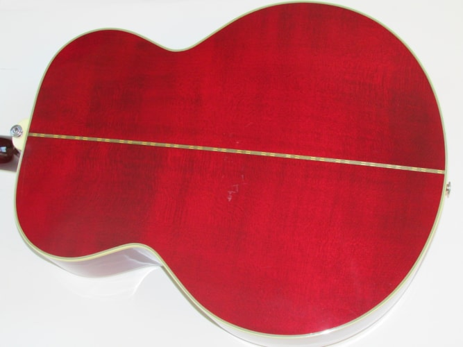 1990 Gibson J-200 Cherry Red, Excellent, Original Hard, Call For Price!