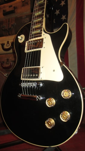 1990 Gibson Les Paul Standard Black, Excellent, Original Hard, $1,999.00