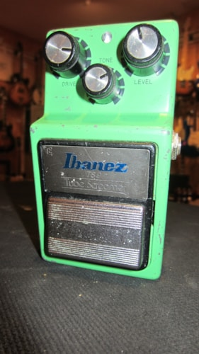 1990 Ibanez TS9 Tube Screamer Green, Excellent, $399.00