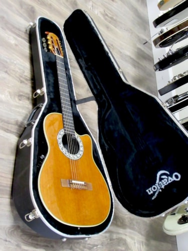 1990 Ovation 1863 Classic Cutaway Very Good, Original Hard