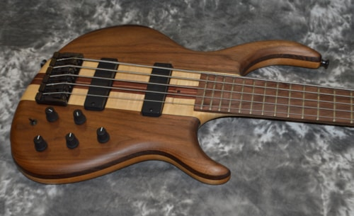 1990 Tobias 5 String Neck Through Satin Natural