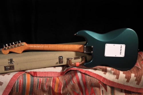 "1991 Fender 'Fred Stuart' Masterbuilt Stratocaster ""Sherwood Green"", Excellent, Original Hard"