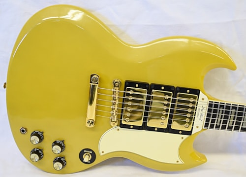 1991 Gibson 30th Anniv.'61Reissue SG/Les Paul TV Yellow