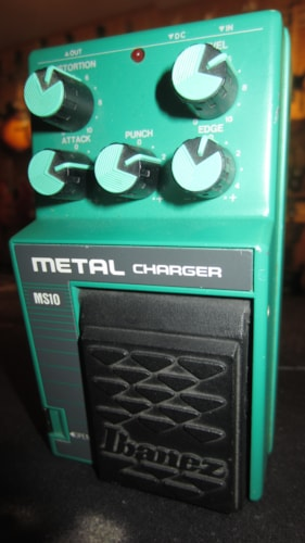1991 Ibanez MS10 Metal Charger Green, Excellent