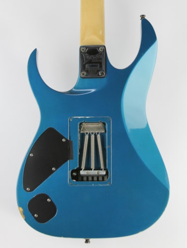 1991 Ibanez RG770 Laser Blue, Very Good, Original Hard, $999.00