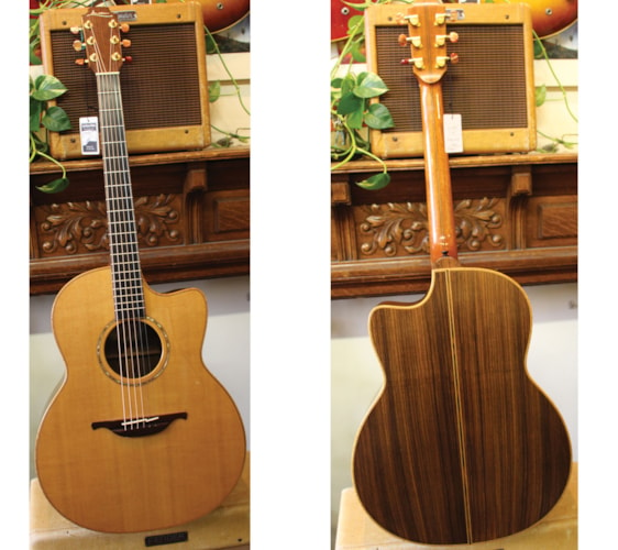 1991 Lowden F-35 Rosewood Near Mint, Original Hard