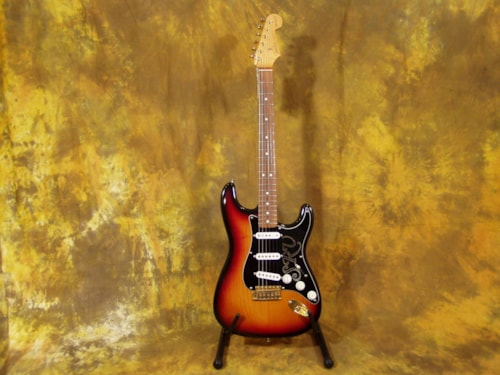 1992 Fender® SRV SUNBURST, Very Good, Original Hard