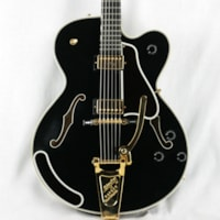 1992 Gibson Chet Atkins Country Gentleman BLACK Archtop Electric Guitar! l5 es335