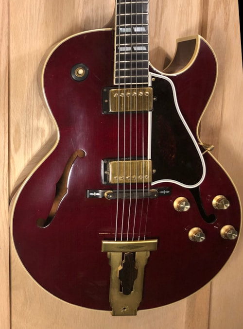 1992 Gibson L4 Ces Wine Red Gt Guitars Archtop Electric