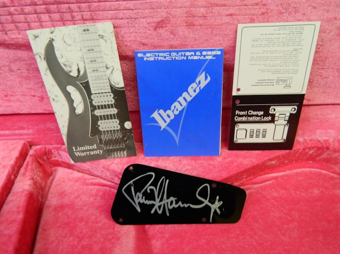 1992 Ibanez Iceman PS-10 20th Anniversary Limited Reissue Black