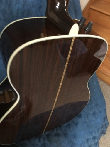 1992 Martin B-40 Natural Acoustic bass with pickup