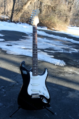 1993 Fender® Strat® Plus Black, Very Good, Original Hard