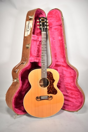 1993 Gibson J-100 Xtra Natural Finish Acoustic Guitar W/ OHSC
