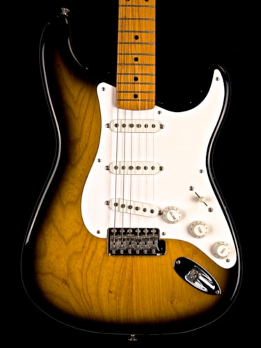 1994 Fender 40th Anniversary 1954 Stratocaster Sunburst, Excellent, Original Hard, $1,395.00