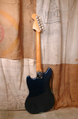 1994 Fender Competition Mustang (1969 Reissue) Blue, Good, GigBag