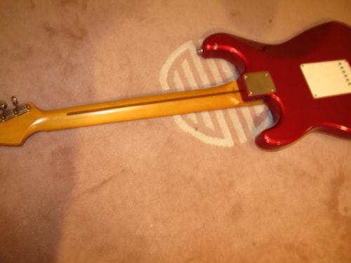 1994 Fender '57 R.I. Stratocaster  Candy Apple Red
