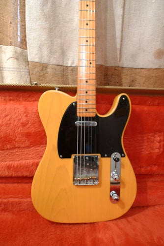 1994 Fender Telecaster  (1952 Reissue) Blond, Excellent, Original Hard, $1,500.00