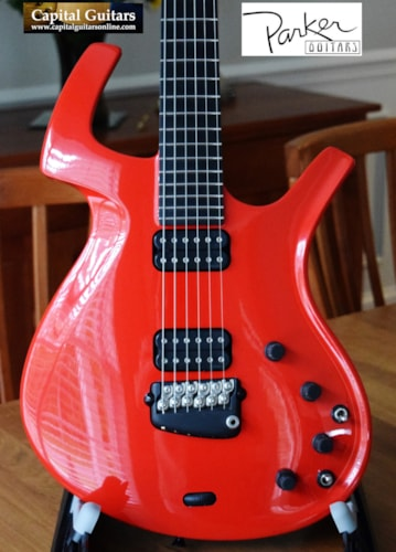 "1994 Parker Fly Deluxe ""Pre-Refined"" Ruby Red"