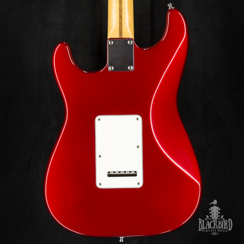 1995 Fender American Standard Stratocaster Candy Apple Red w/ Matching Headstock
