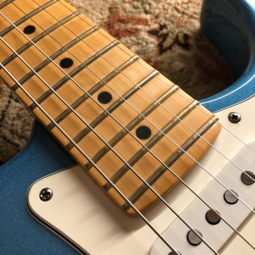 1996 Fender American Standard Stratocaster Lake Placid Blue w/ Matching Headstock