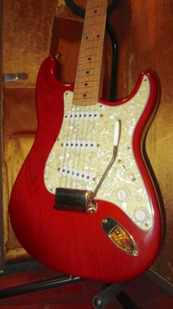 1995 Fender Custom Shop Orange Krush Stratocaster #10 of 25