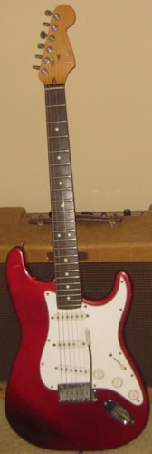 1995 Fender Stratocaster Candy Apple Red