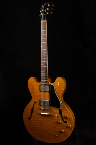 1995 Gibson ES-335 (1995 Reissue) Natural, Excellent, Hard, $3,899.00