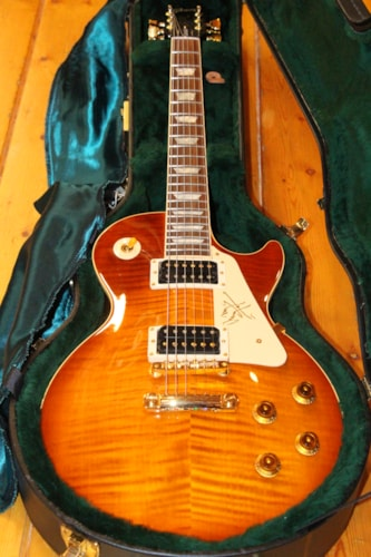 1995 Gibson Les Paul Standard Jimmi Page Signature Honey Burst, Brand New, Original Hard, $4,495.00