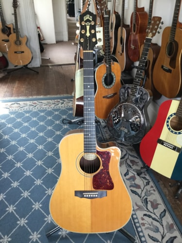 1995 Guild DC-5 E NT Acoustic/Electric Guitar Natural, Excellent