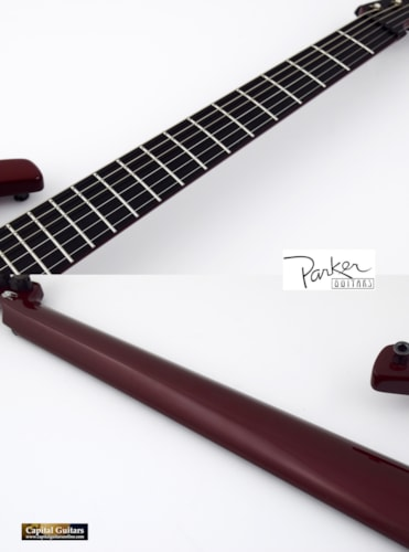 1995 Parker Fly Classic (Pre-Refined Era) Ruby Red with Hardshell Case