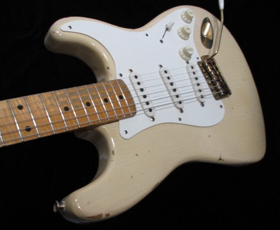 1996 Fender Custom Shop Stratocaster Cunetto Mary Kay, Excellent, Original Hard