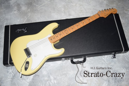 1996 Fender Japan Yengwie Malmsteen Signature Electric Nylon Strings Stratocaster STCL-140YM