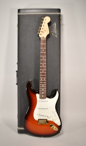 1996 Fender Limited Edition 50th Anniv. Stratocaster Flamed Maple Electric Guitar USA w/OHSC