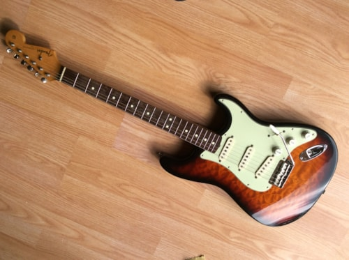 1996 Fender Stratocaster (1962 Reissue) Sunburst, Excellent, Original Hard, Call For Price!