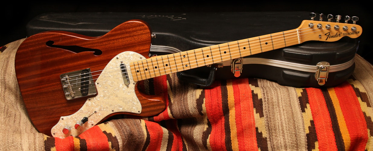 1996 Fender® Telecaster® Thinline Natural, Excellent, $1,250.00
