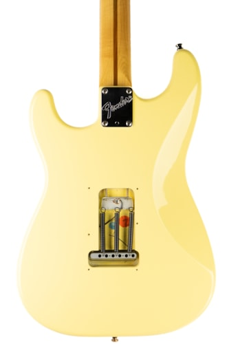 1996 Fender USA Standard Stratocaster Olympic White, Very Good, Hard, $799.00