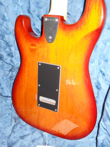 ~1996 G & L Legacy Orange burst Electric guitar.
