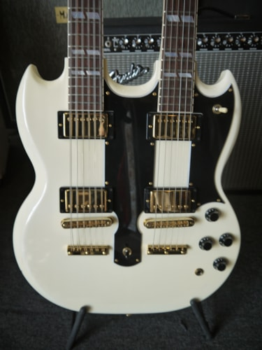 1996 Gibson EDS-1275 Alpine White, Mint, Original Hard, $3,800.00