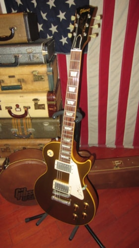 1996 Gibson Les Paul Standard '57 Re-Issue (1957 Reissue) Goldtop, Excellent, Original Hard, $3,495.00