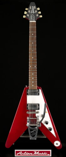 1996 Gibson Lonnie Mack Flying V Cherry, Very Good, Original Hard, $2,650.00