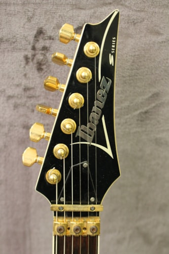 1996 Ibanez S540 FM Custom Green Burst