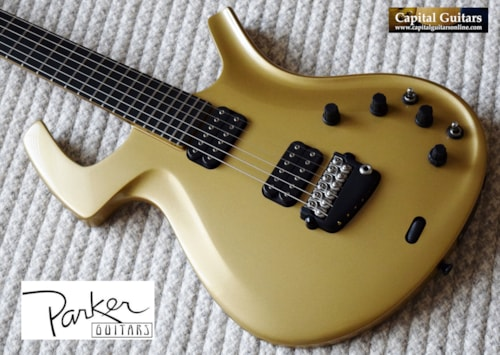 """1996 Parker Fly Deluxe """"Pre-Refined"""" Gold"""