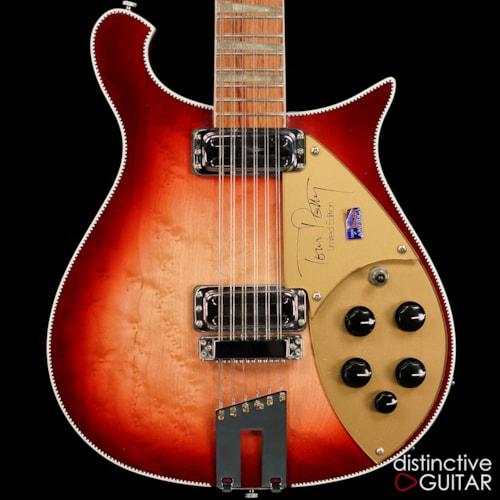 1996 rickenbacker 660 12tp 12 string tom petty signature fireglo guitars electric solid body. Black Bedroom Furniture Sets. Home Design Ideas