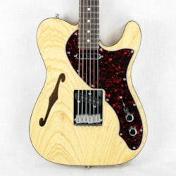 ~1997 Fender 90's Telecaster Thinline Natural w/ Rosewood! USA American Tele Double-Bound