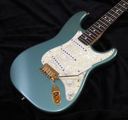 1997 Fender Custom Shop American Classic Sage Green Metallic